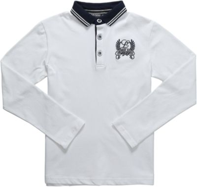 Рубашка-поло для мальчика Luminoso - белый