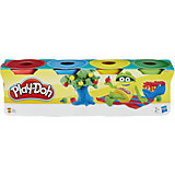 Пластилин Hasbro Play-Doh, 4 мини-баночки