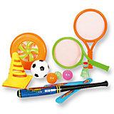 """Игровой набор для детей """"4 в 1"""", 11 предметов в сумке,YG Sport"""