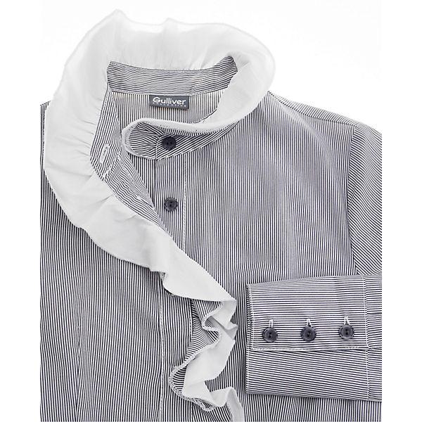 Серые блузки для девочек