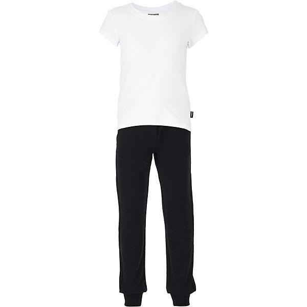 Комплект: футболка, брюки и мешок для девочки Gulliver