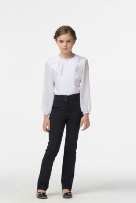 Блузка для девочки Смена - белый