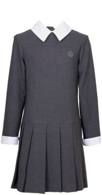 Платье для девочки Смена - серый