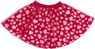 Юбка для девочки Апрель - красный