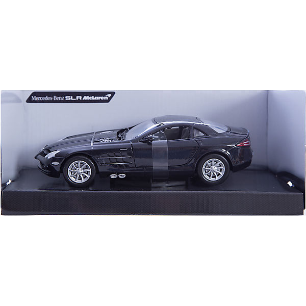 "Машина ""MERCEDES-BENZ SLR MCLAREN"", 1:24, черная"