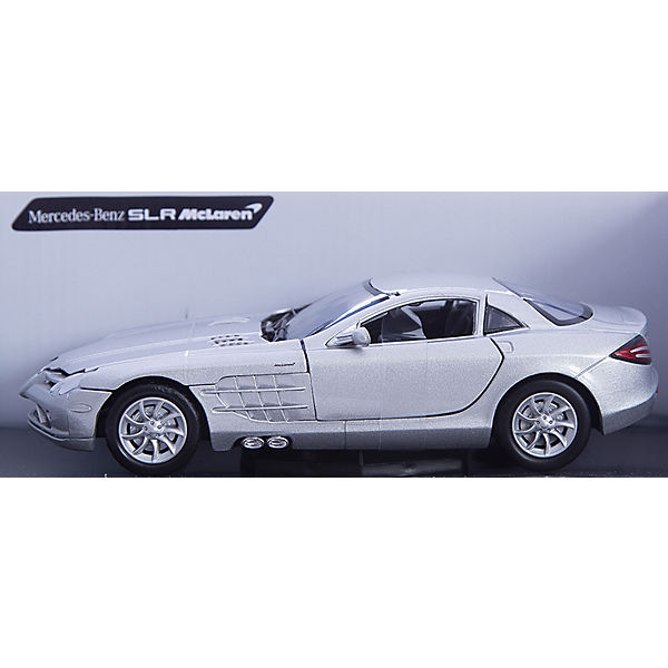 "Машина ""MERCEDES-BENZ SLR MCLAREN"", 1:24, серая"