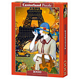 "Пазл ""Париж"", 1000 деталей, Castorland"