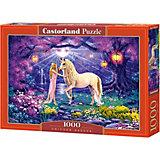 """Пазл """"Единорог в саду"""", 1000 деталей, Castorland"""