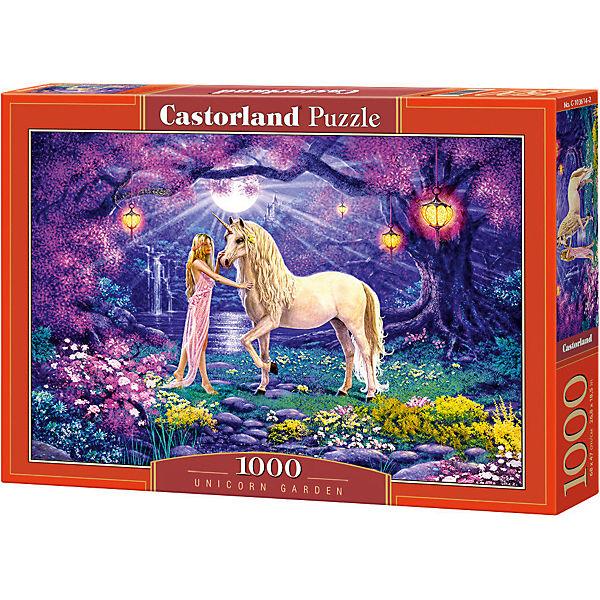 """Пазл Castorland """"Единорог в саду"""", 1000 деталей"""