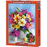 """Пазл """"Букет цветов"""", 1500 деталей, Castorland"""