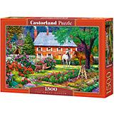 """Пазл """"Чудесный сад """", 1500 деталей, Castorland"""