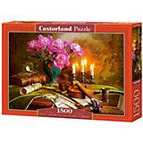 "Пазл ""Натюрморт-скрипка. цветы "", 1500 деталей, Castorland"