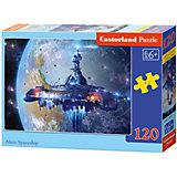 """Пазл """"Космический корабль"""", 120 деталей, Castorland"""