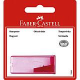 Faber-Castell Точилка для карандашей с контейнером в блистере, 1 отверстие.