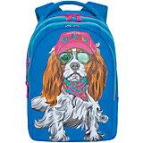 Рюкзак школьный Grizzly 3 отделения