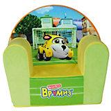 Кресло-чехол Врумиз, Small Toys,  желтый