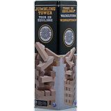 """Настольная игра """"Падающая башня"""" в жестяной банке, 48 блоков, Spin Master"""