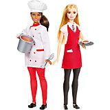 Набор из 2-х кукол Barbie Повар и Официантка