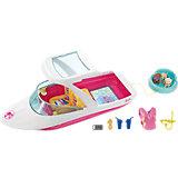 Моторная лодка с аксессуарами Barbie