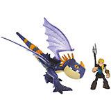 Набор Астрид и Громгильда, фиолетовый дракон, Как приручить дракона, Spin Master