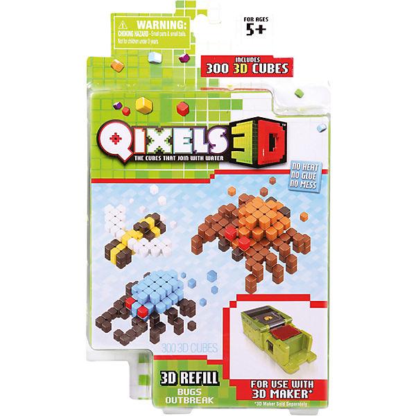 """QIXELS 3D Дополнительные наборы для """"3D Принтера"""" Qixels"""