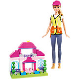 """Игровой набор Barbie """"Строитель"""""""