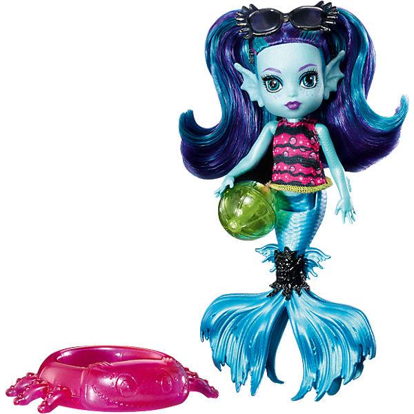 """Мини-монстряшка Monster High Эбби Блю из серии """"Семья Монстриков"""""""