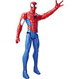 """Фигурка Hasbro """"Титаны"""" Паутинные бойцы, Вооруженный Человек-паук, 30.5 см"""