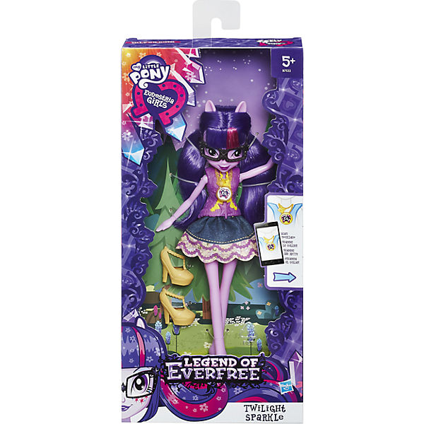 """Кукла """"Легенда Вечнозеленого леса"""", B6476/B7522, My little Pony, Hasbro"""