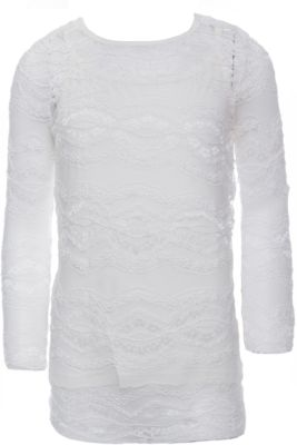 Блузка для девочки S'cool - белый