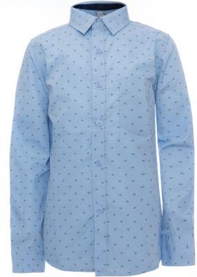 Рубашка для мальчика S'cool - голубой
