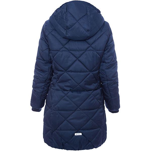 Пальто текстильное для девочки S'cool
