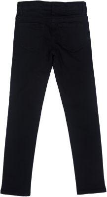 Брюки текстильные для девочки S'cool - черный
