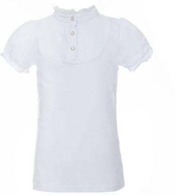 Блузка трикотажная для девочки S'cool - белый