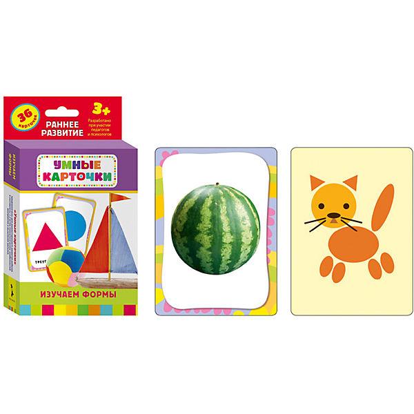 Комплект Умные карточки: изучаем буквы, изучаем формы, кто где живет