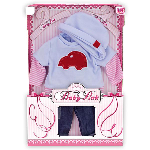 "Одежда для куклы мальчика ""Baby Pink"", Loko Toys"