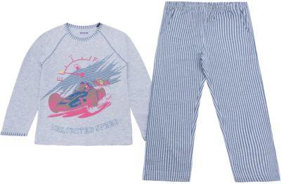 Пижама для мальчика Baykar - серый