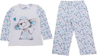 Пижама для девочки Baykar - белый