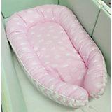 Гнездышко для малыша by Twinz, короны розовые