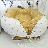 Гнездышко для малыша by Twinz, горчичный горошек