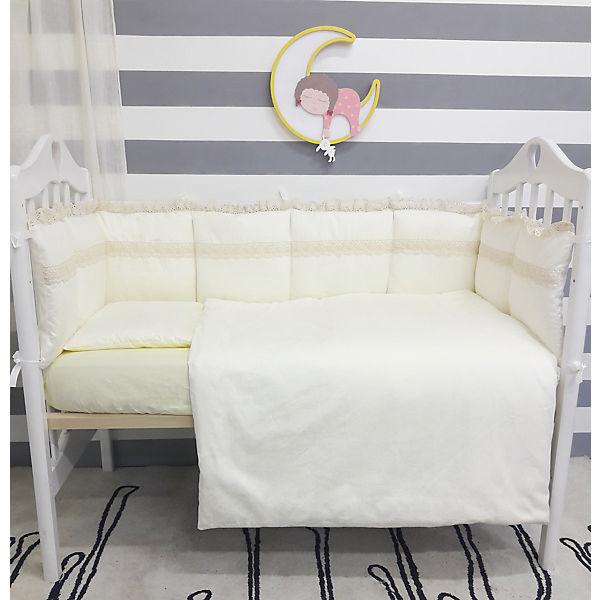 Детское постельное белье 3 предмета By Twinz, Нежная классика