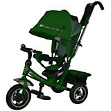 Трехколесный велосипед, зеленый, Power