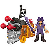Базовая фигурка пирата Davey Jones & Triple Can, Imaginext, Fisher Price