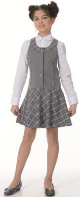 Сарафан Диана для девочки Skylake - серый