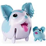 Коллекционная фигурка Той-спаниель, небесно-голубой, Chubby Puppies
