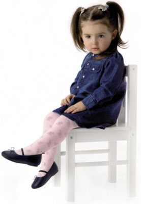 Колготки для девочки Knittex - бледно-розовый
