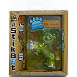 Фигурка питомца Бульдог, зеленый, Stikbot