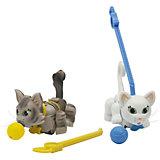 Набор Серая и белая кошечки, Pet Club Parade