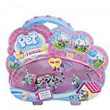 Игровой набор Семья серых кошек, Pet Club Parade