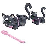 Игровой набор Семья черных кошек, Pet Club Parade